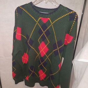 Vintage tommy hilfiger heavy knit sweater